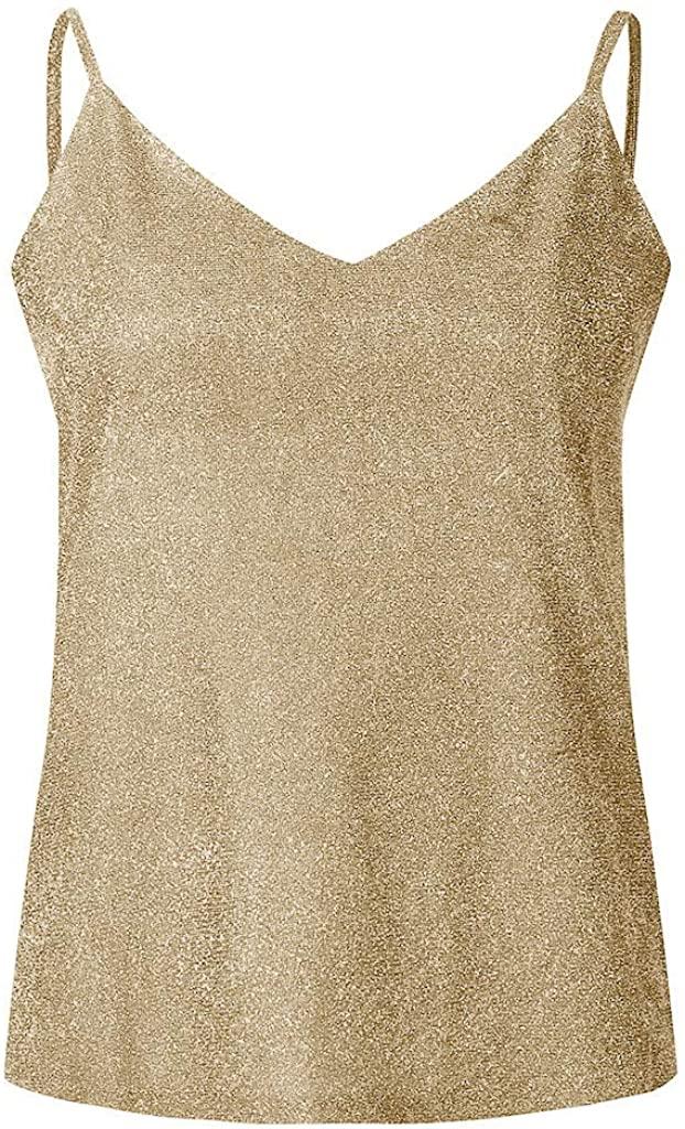 LEKODE Women Halter Solid Camisole Fashion Crop Tops Casual Vest