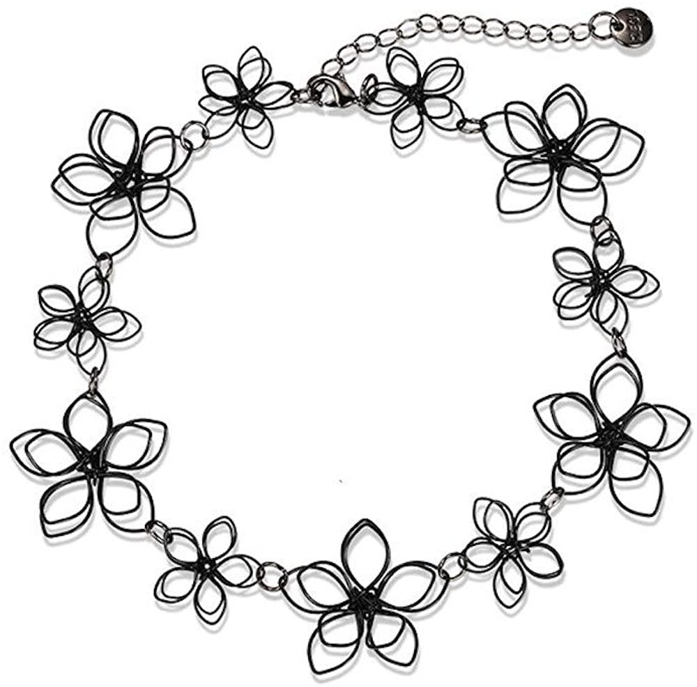 Fashion Jewelry Flower Chocker Necklace