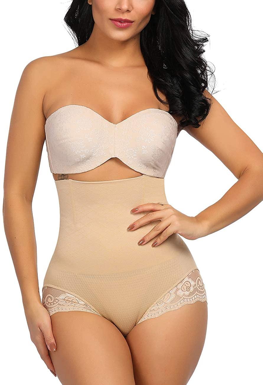 Lover-Beauty Women Butt Lifter Body Shaper Hip Padded Panty Tummy Control Shapewear Removable Pads Panty