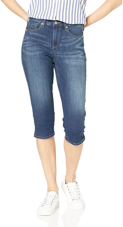 NYDJ Women's Misses Skinny Capri Jeans in Cool Embrace Denim