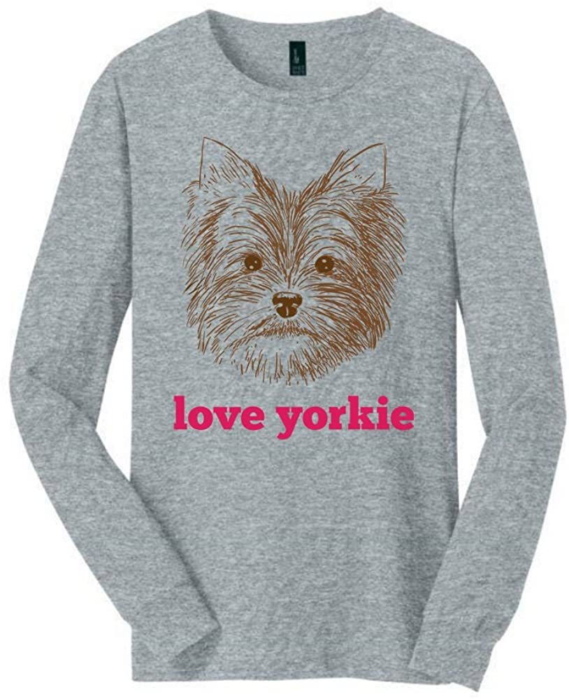 Yorkie Long Sleeved shirt | Great Yorkie shirt with a Creative Quote | Cool shirt for Yorkie