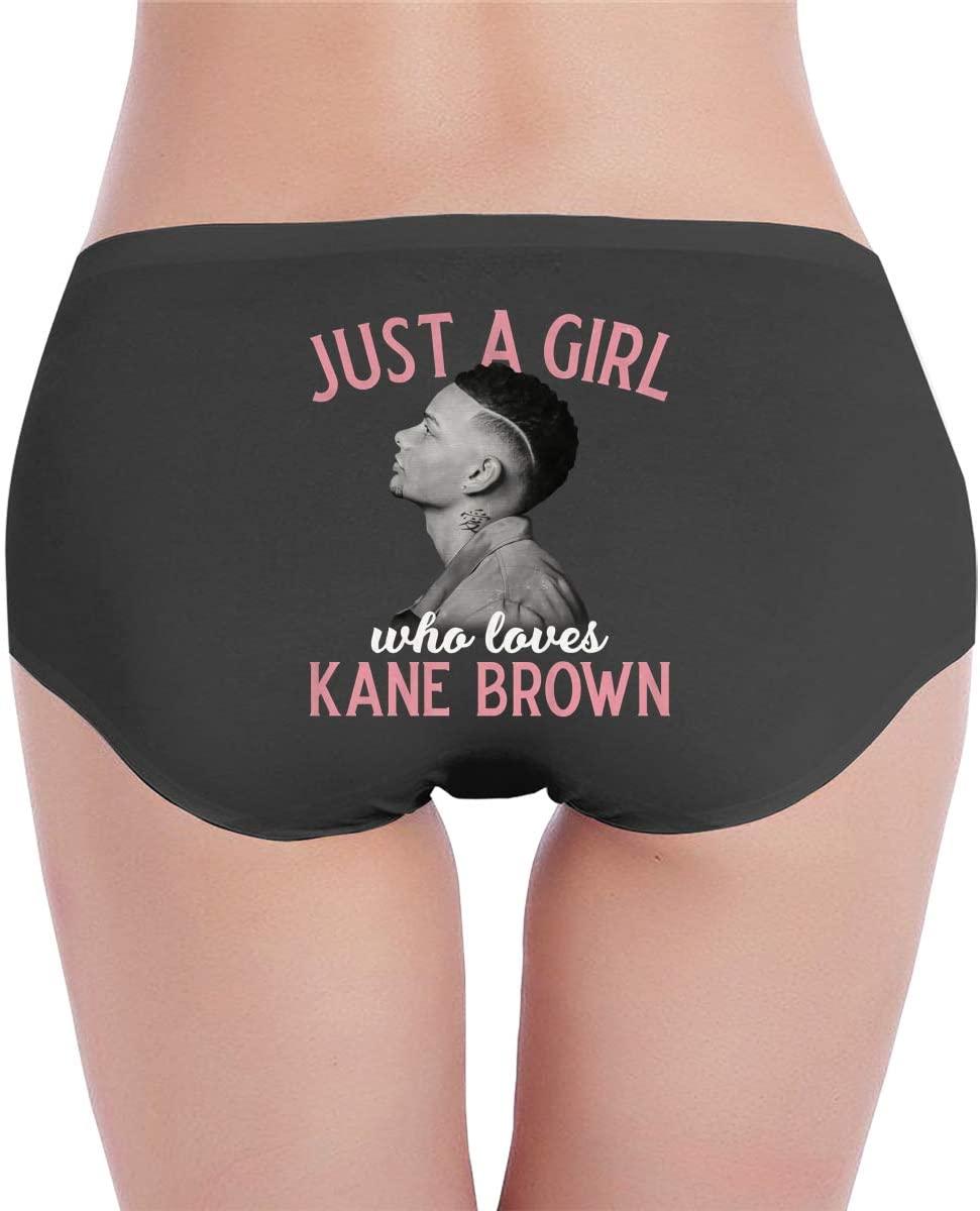 Xiaoqiu Kane-Brown Underwear Ladies Cotton Soft Bikini Panties Ladies Breathable All-Match Low-Waist Panties.