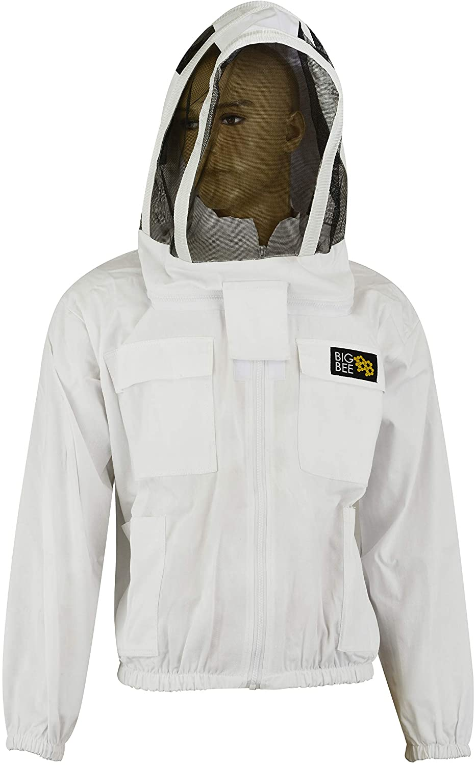 Hugger Glove Company BigBee Bee Keeping Jacket 100% Heavy Cotton