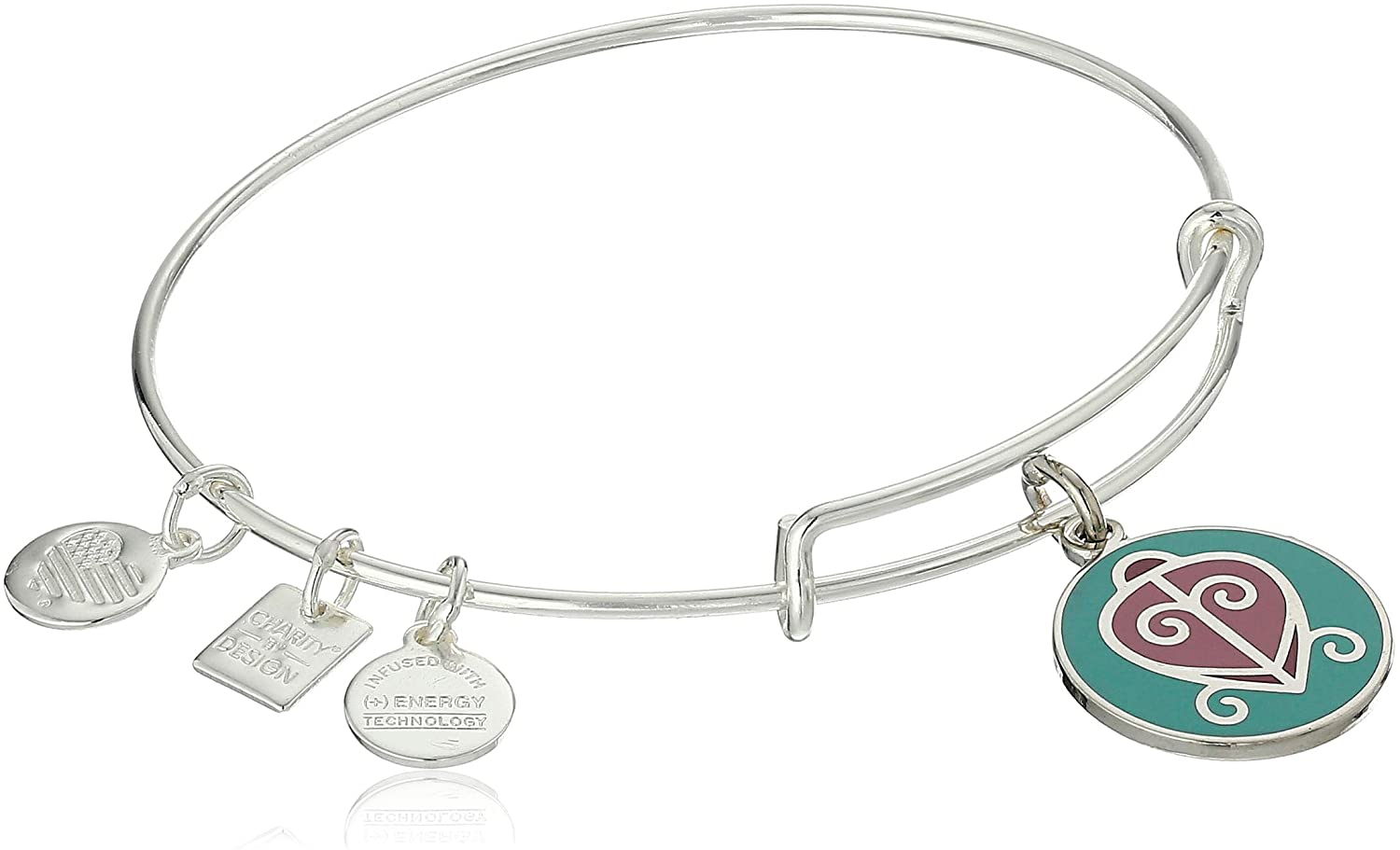 Alex and Ani Women's Charity by Design - The Way Home Expandable Charm Bangle Bracelet