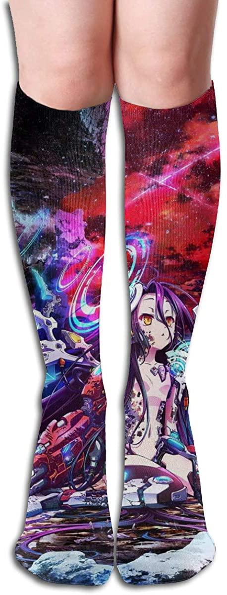 Japan Anime Nogame-Nolife Women Girls Trend Boot Socks Cosplay