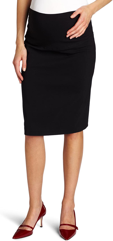 Ripe Maternity Women's Maternity Suzie Skirt, Black