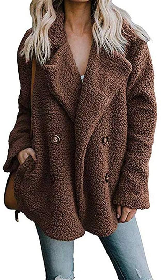 Autumn Winter Teddy Bear Coat Women Plus Size Thick Warm Winter Jacket Female Long Sleeve Ladies Winter Outwear