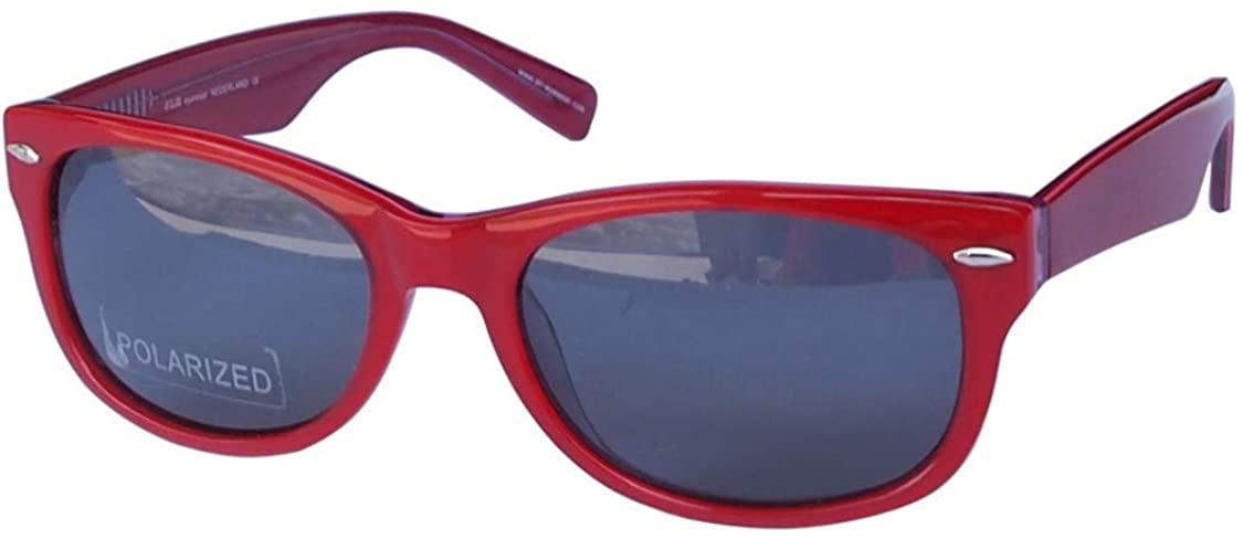 SLR Handmade Acetate Polarized Designer Sunglasses, Non-Prescription/Rx-able Oval Glasses Frame for Women Men