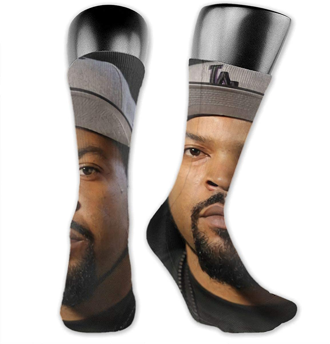 Ice Cube Medium Long Socks Dress Hose Soccer Short Anklet For Workout