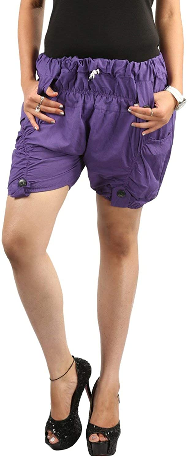 Teemoods Women's Cotton Funky Shorts