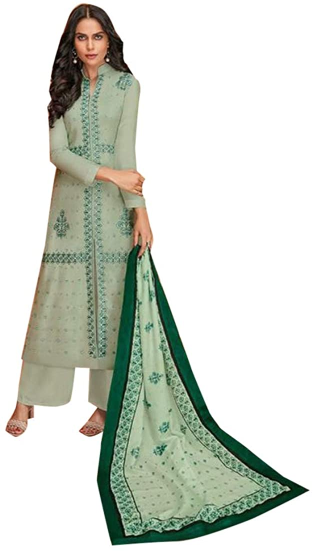 Ready to wear Indian Ethnic Formal Casual wear Viscose Maslim Palazzo Suit Women dress 8385