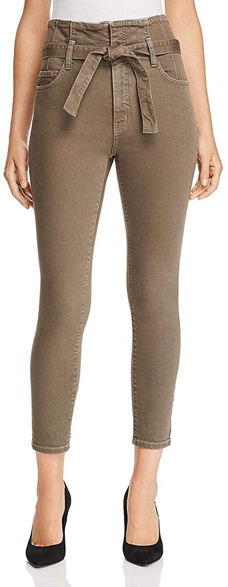 Current/Elliott Womens Denim High Rise Skinny Crop Jeans