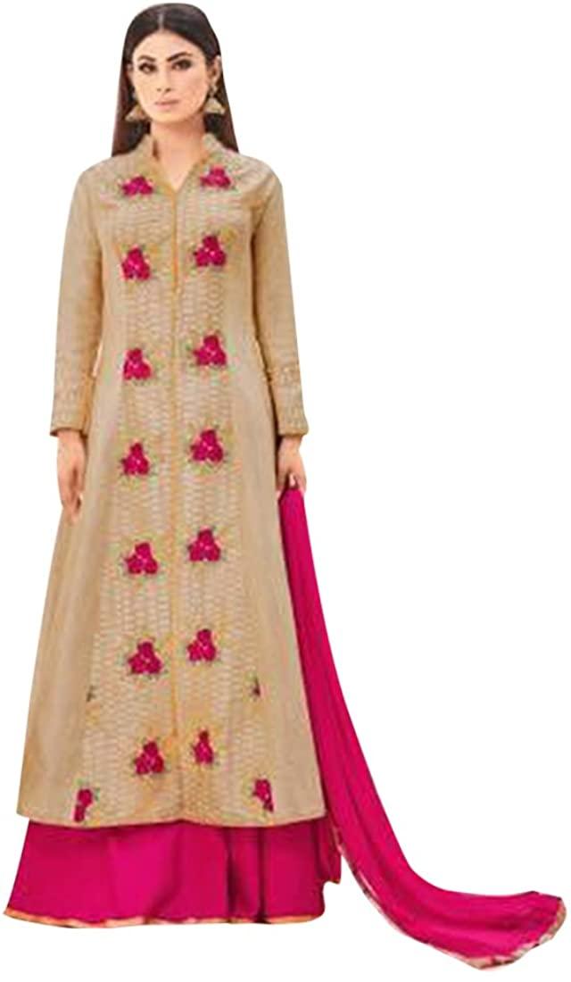 Designer Bollywood Collection Women Floor Length Anarkali Salwar Suit Custom to Measure Indian Ethnic Bridal Wedding Ceremony Muslim Eid 2654 1