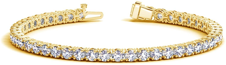 2-20 Carat Classic Diamond Tennis Bracelet Premium Collection
