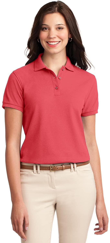 XtraFly Apparel Women's Silk Touch Polo Shirt L500
