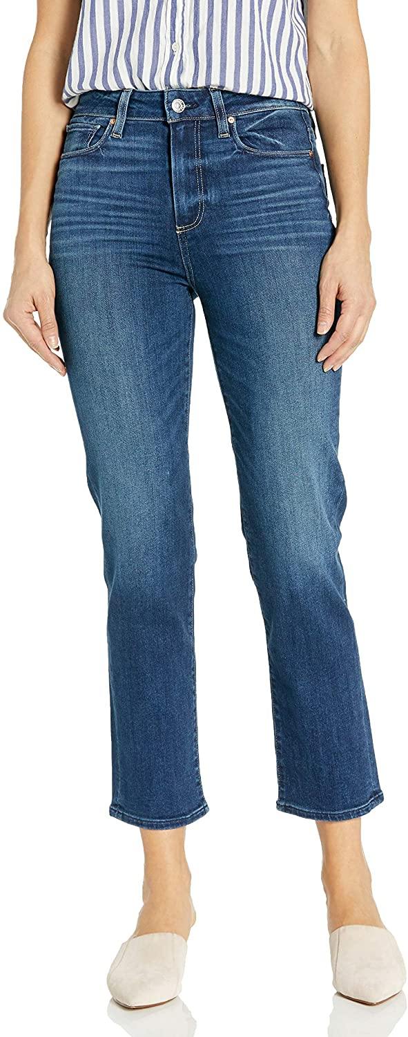 PAIGE Women's Hoxton Straight Ankle Jean