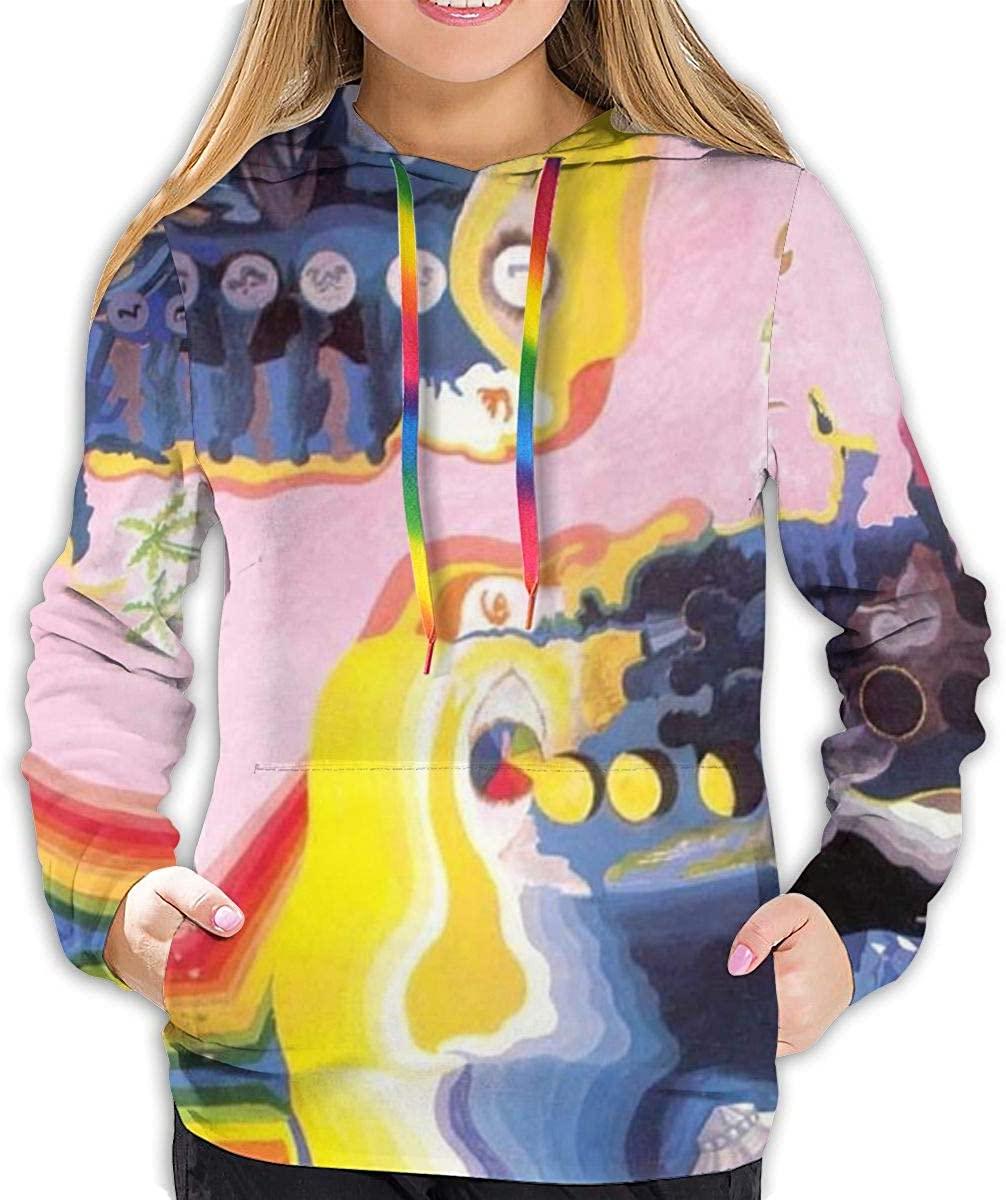 Dfmdfng The Moody Blues Women's Hoodies Sweater Fashion Long Sleeve Top Hooded Sweatshirts