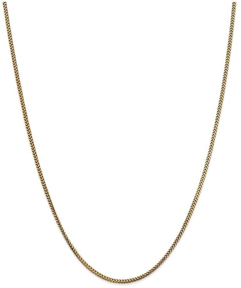 Finejewelers 14k 1.5mm Franco Chain