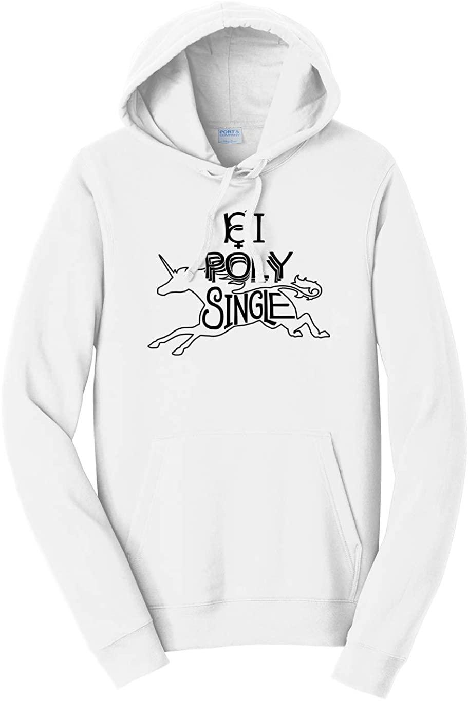 Tenacitee Unisex Bi & Poly & Single Hooded Sweatshirt