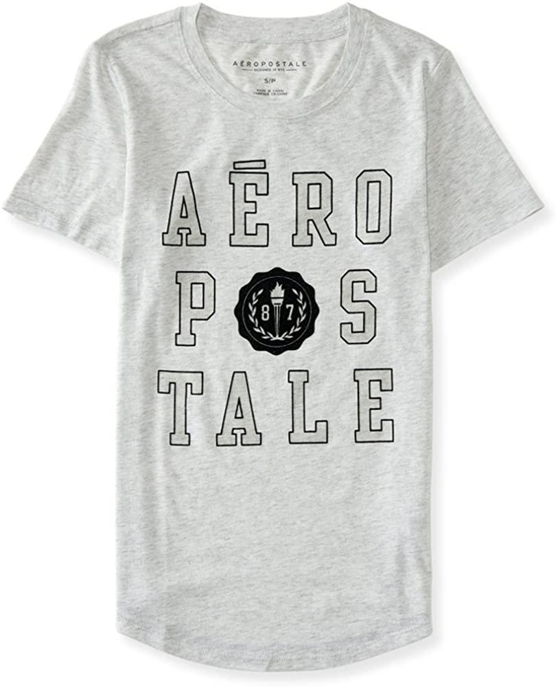 AEROPOSTALE Womens Logo Crest Embellished T-Shirt