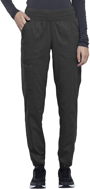 CHEROKEE Workwear WW Revolution Natural Rise Jogger, WW011, 2XL, Pewter