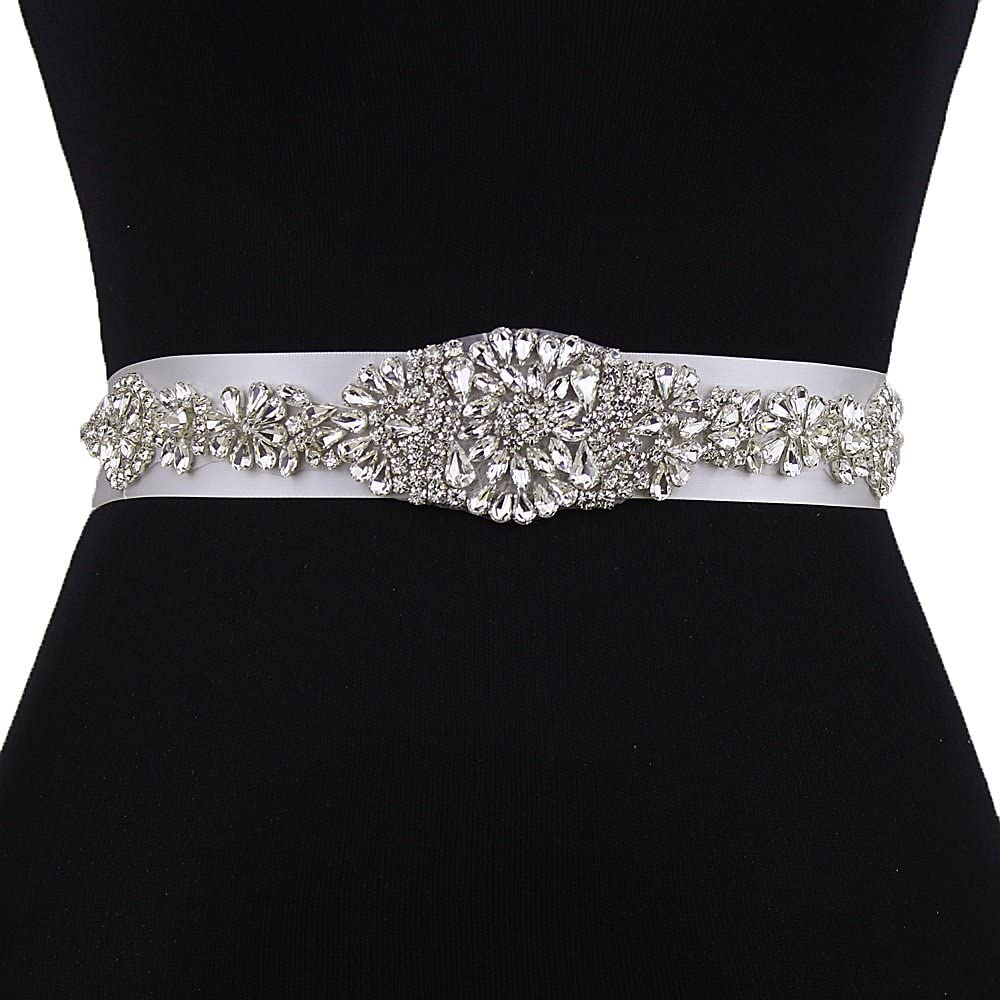 Rhinestones Belt Bridal Sash Pearls And Crystal Wedding Belt For Bridal Dresses Bridesmaids Dress