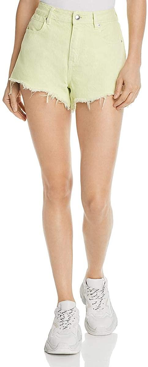 Alexander Wang Womens F Cotton Denim Shorts