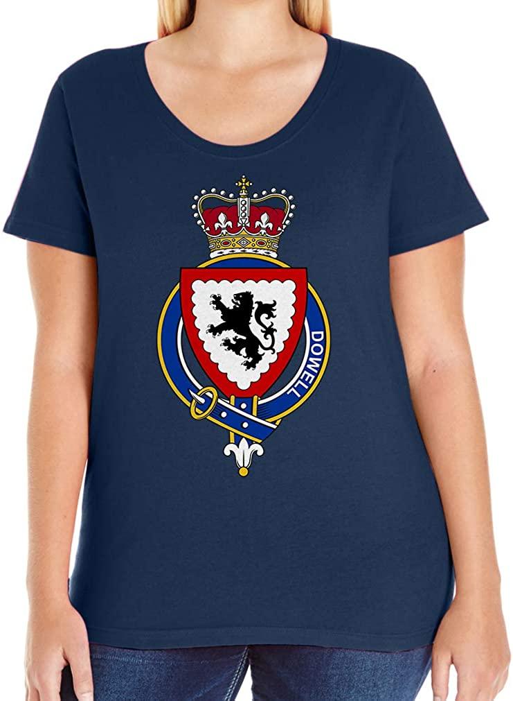 Tenacitee Women's Scottish Garter Family Dowell T-Shirt