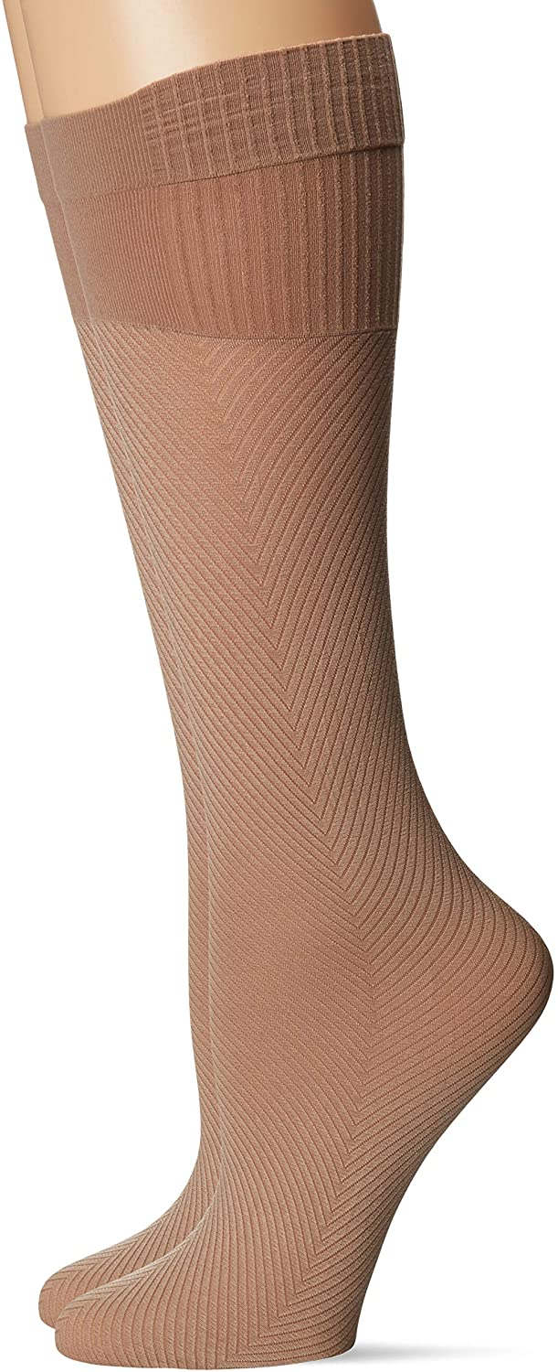 Hanes Women's Perfect Geo Compression Socks 2 Pair Pack