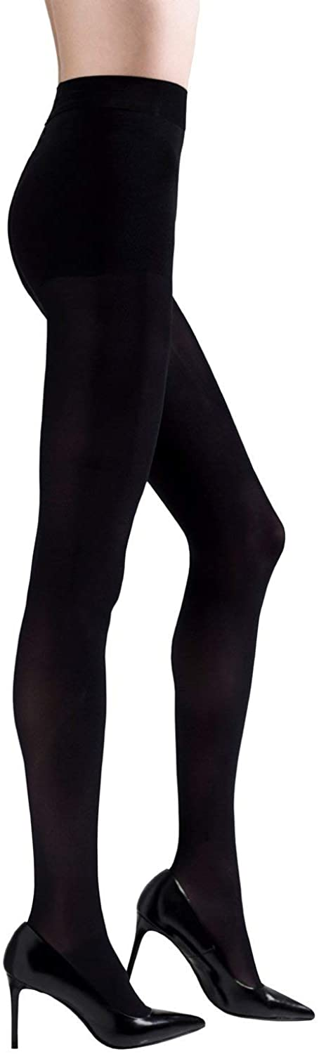 Natori Basic opaque tights. High heel essential with ball of foot cushioning.