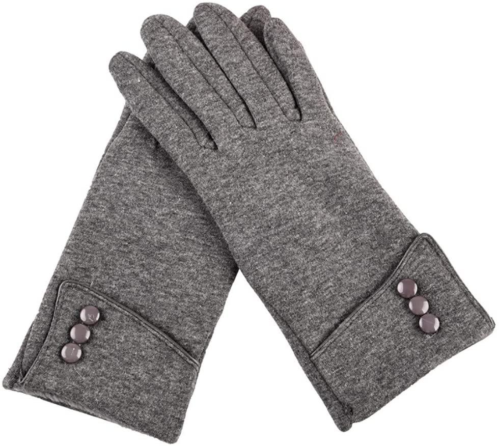 Smoxx Women Winter Gloves Warm Touchscreen Gloves Windproof Gloves for Women Girls Winter Using