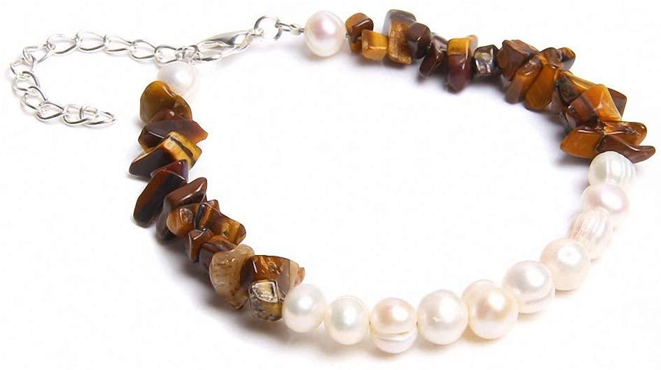 Charm Bracelets Women Natural Stone Bracelet Pearls Beads Bracelet for Women Girls Boho Bracelets Jewelry Gifts Fd1851
