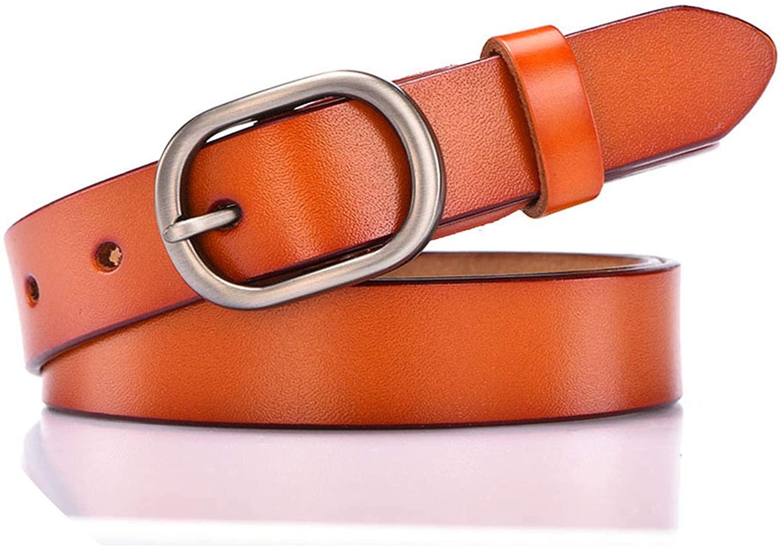 Women Belt Alloy Pin Buckle Imitation Leather Sport Cowboy Belt
