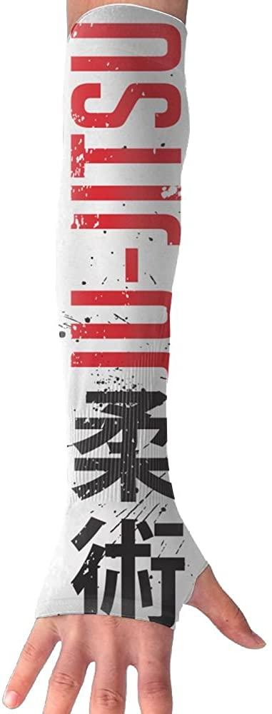 Unisex Jujitsu Anti-UV Sleeves Gloves Sun Protection Sports Protective Armor Sleeves