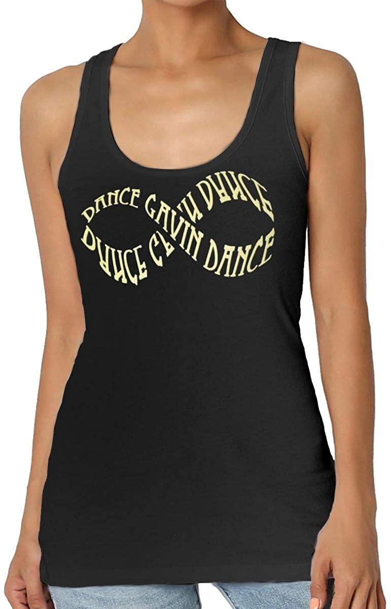 MaMing Dance Gavin Dance Womens Fashion Sleeveless Vest Home Office Vests