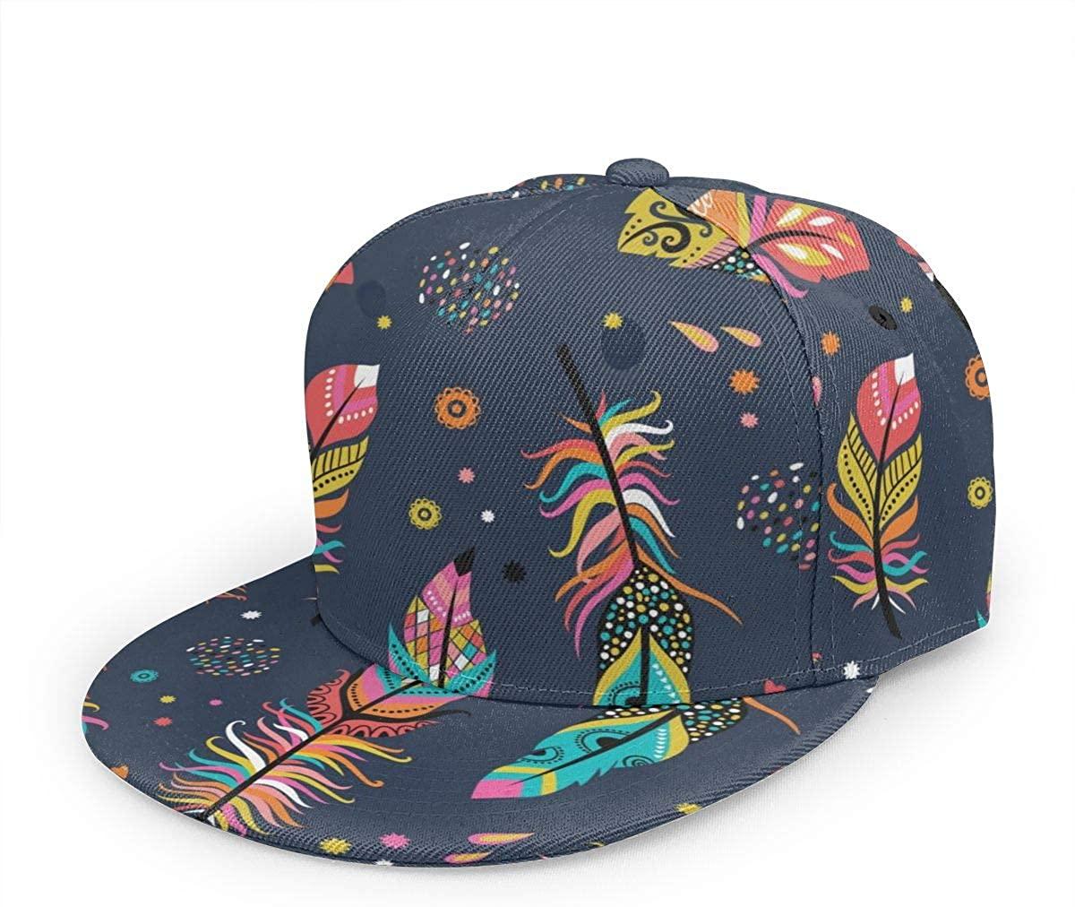Snapback Hat Cock Rooster Hen in Nature at Sunset Baseball Cap Flat Brim Sun Visor Hat for Women Men