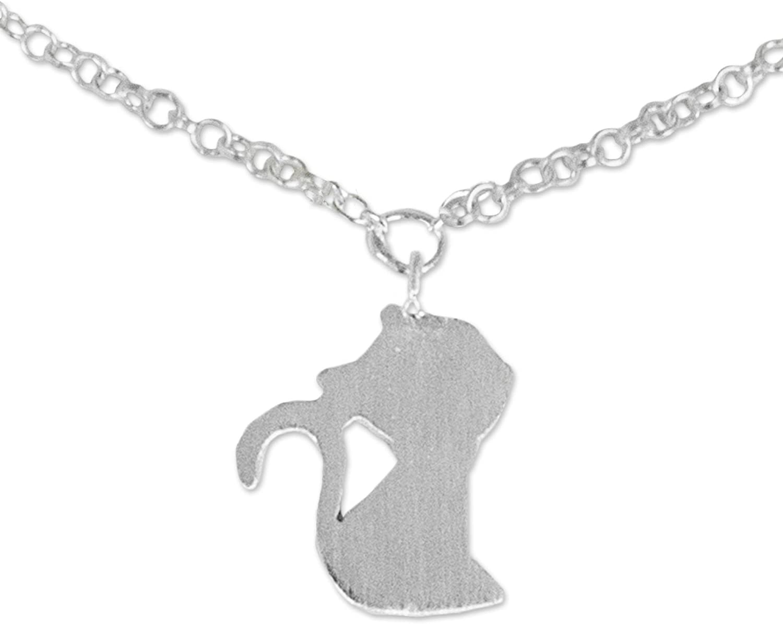 NOVICA .925 Sterling Silver Charm Anklet, 9.75