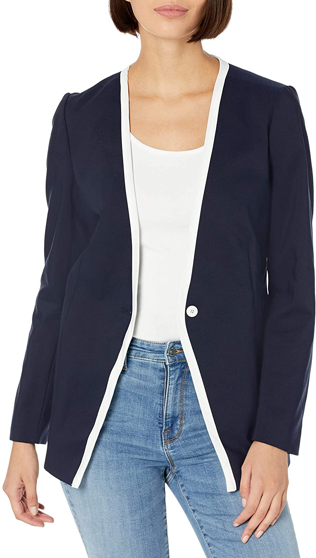 Chaus Women's One Button Jacket