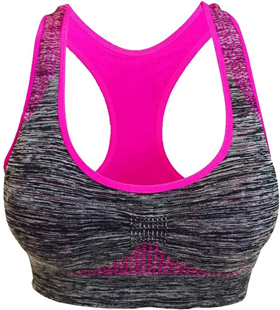 LENXH Yoga Underwear Seamless Sports Vest Fitness Underwear Stretch Fashion Vest Casual Breathable Underwear