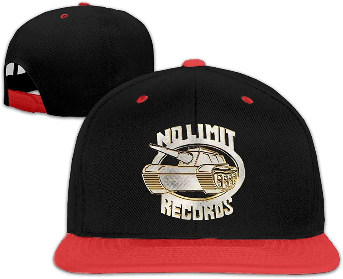 Funny Master P No Limits Records Baseball Mesh Back Cap Fits Baby, Toddler and Youth Red