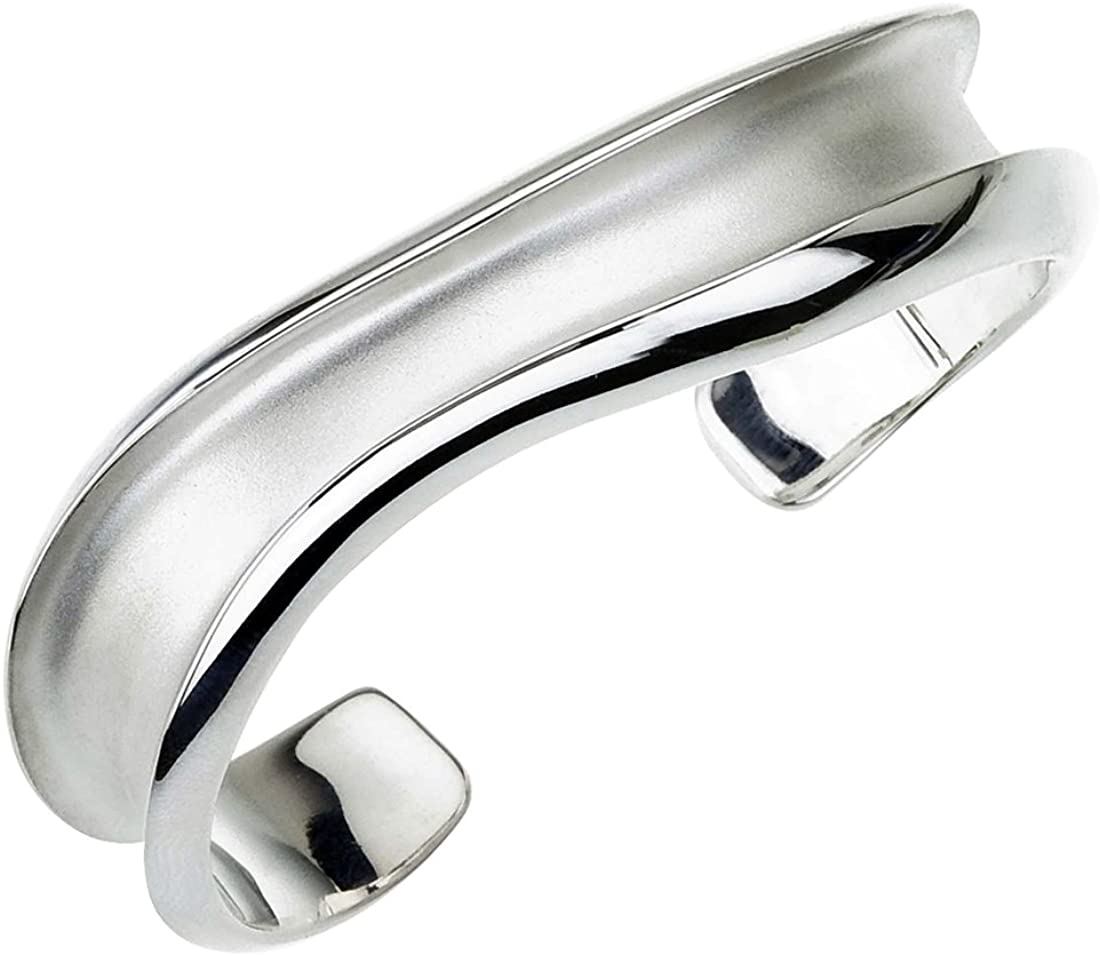 AX Jewelry Caroline Ballou Silk Road Sterling Silver Cuff Bracelet