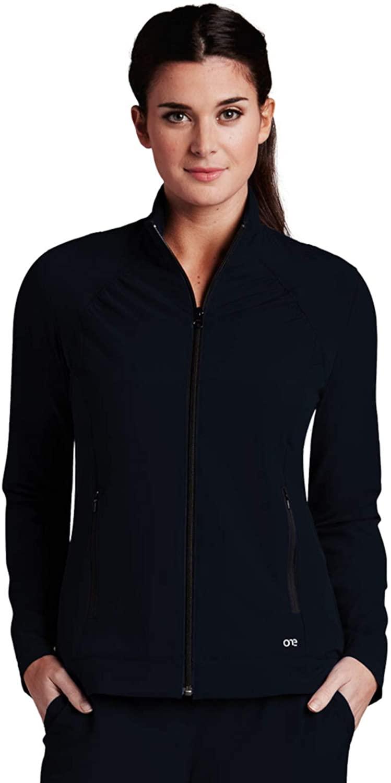 BARCO One 5405 Zipper Front Jacket Black S