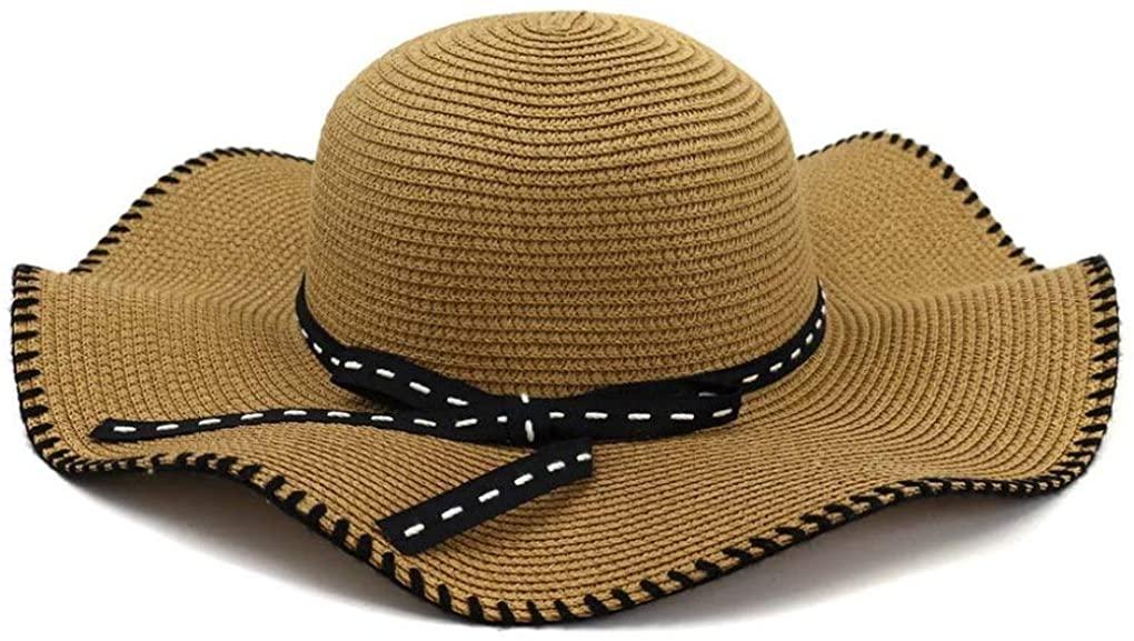Wild Summer Seaside Holiday Female hat Sunscreen Sun hat New Sunshade Beach hat Big hat