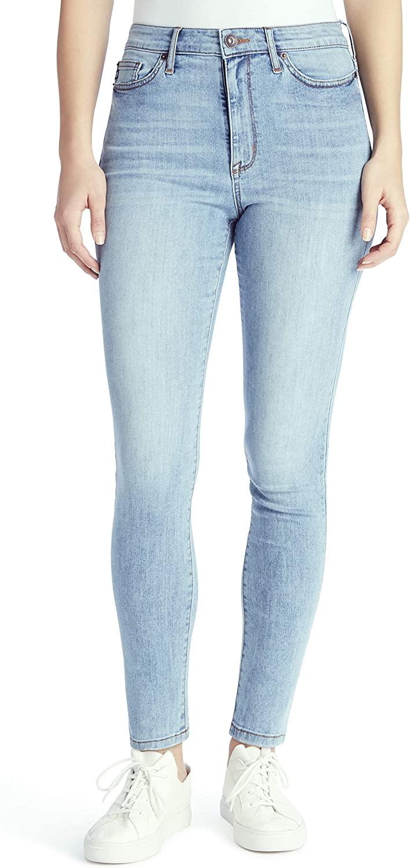 CHAPS Jeans Women's High Rise Skinny Full Length Jean