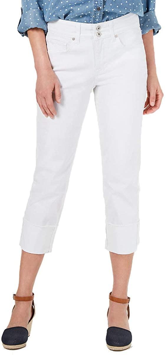 Style & Co. High Cuffed Capri Jeans
