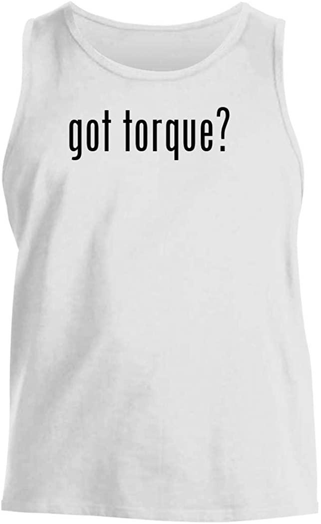 got torque? - Men's Comfortable Tank Top, White, Medium