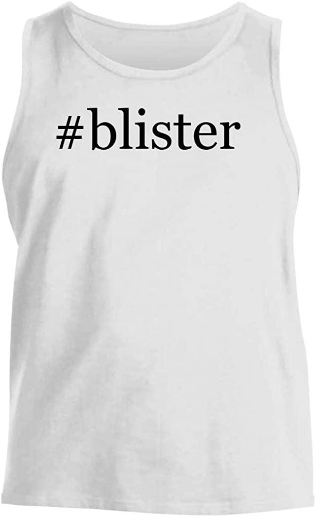 #blister - Men's Hashtag Comfortable Tank Top, White, Small