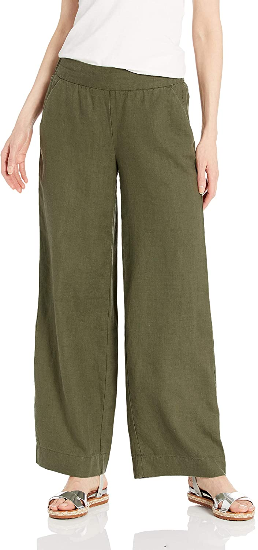 DHgate Brand - Daily Ritual Women's Linen Wide-Leg Pant