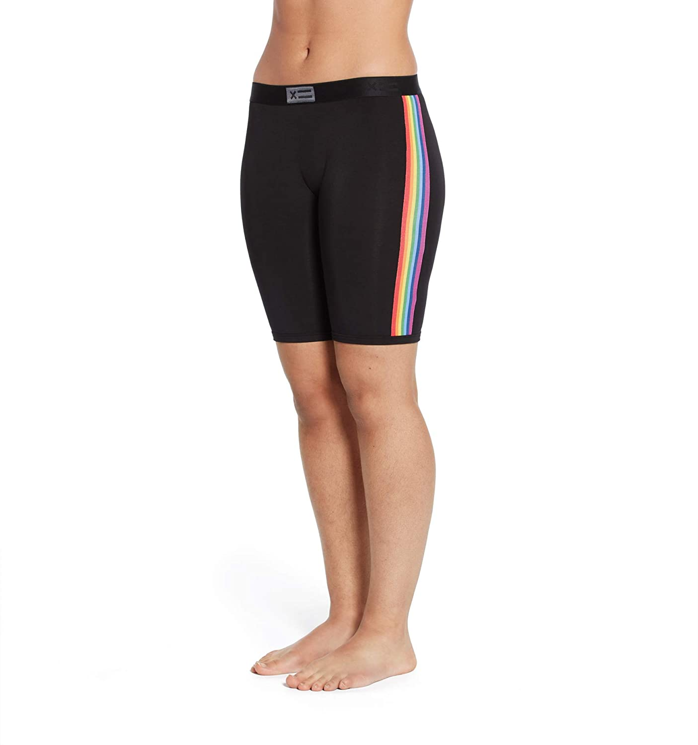 """TomboyX 9"""" Boy Short Boxer Briefs, Micromodal Ultra-Soft Underwear, All Day Comfort (XS to 4X)"""