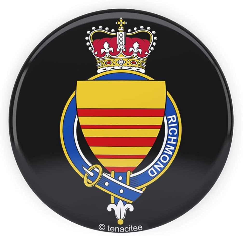 Tenacitee English Garter Family Richmond Pinback Button